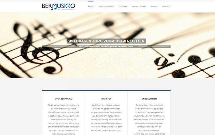 Website Bermusico